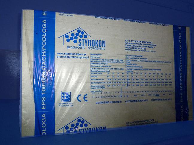 styropian paczka EPS-100