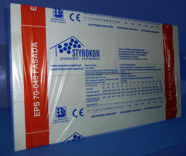 styropian paczka fasada EPS-70